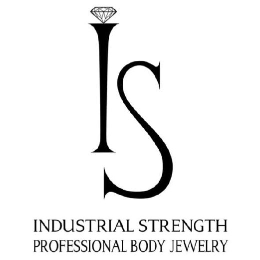 Industrial Strength Professional body Jewelry Logo